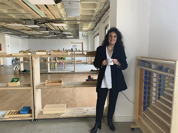 Olimpia Tardá, gerente del 'The Internacional Montessori School'