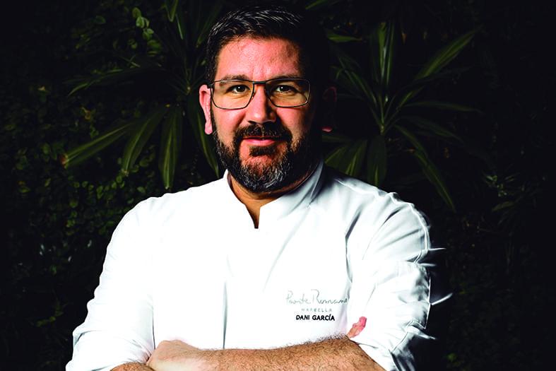 """Dani García.""""Mi objetivo es que el mundo entero pueda              conocer mi cocina"""""""