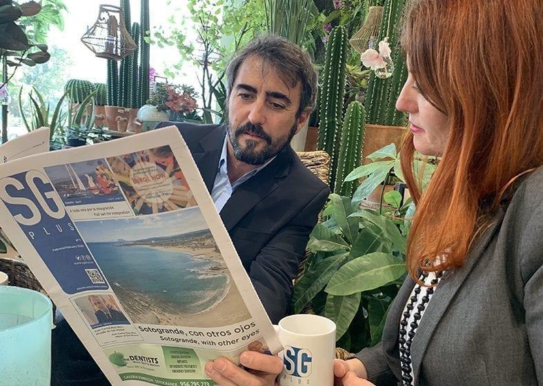 Un café con… Eustaquio y Angélica Gavira