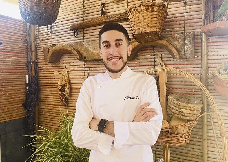 Adrián Calvente, un prometedor chef que sueña con ser profesor de hostelería