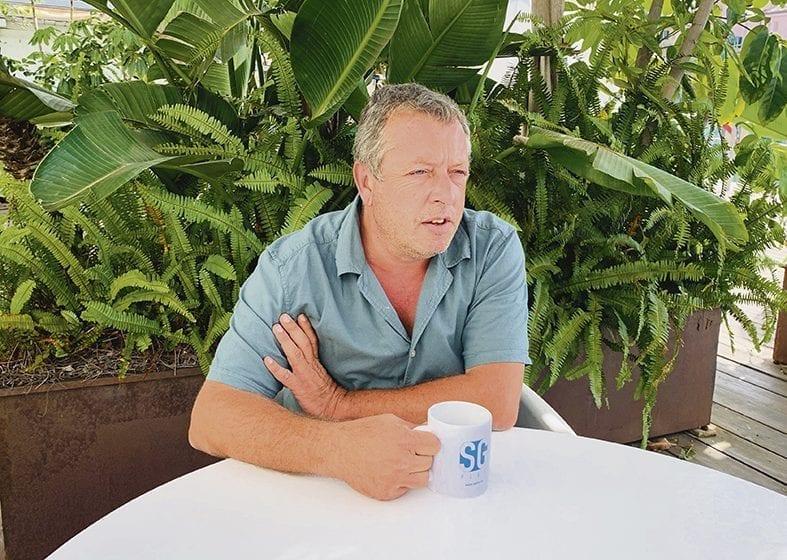 Un café con… Juan Moncayo