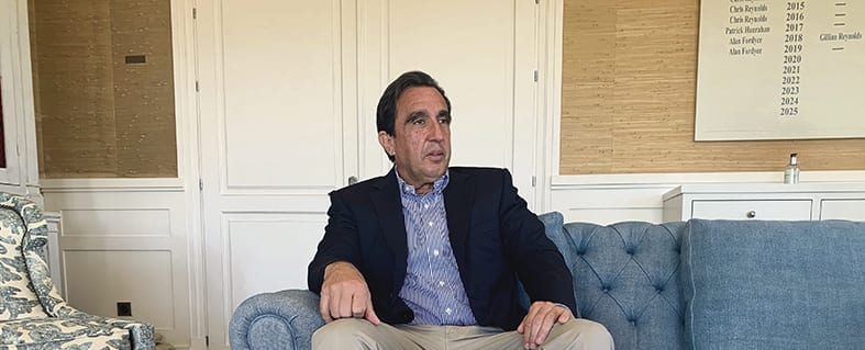 Un café con… Vicente Rubio, Director General de Finca Cortesín