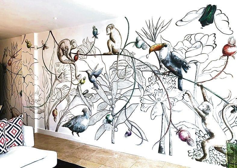 Murales que convierten paredes en obras de arte