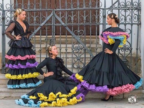 Moda flamenca con Gema Valero