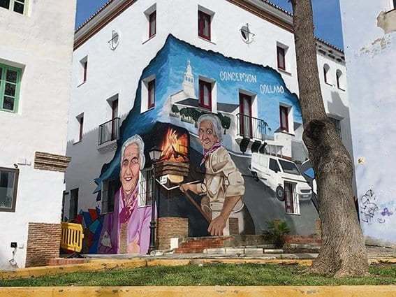 Curro Sedano, artista urbano