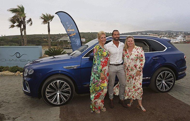 Bentley Motors, lujo en la playa de Sotogrande