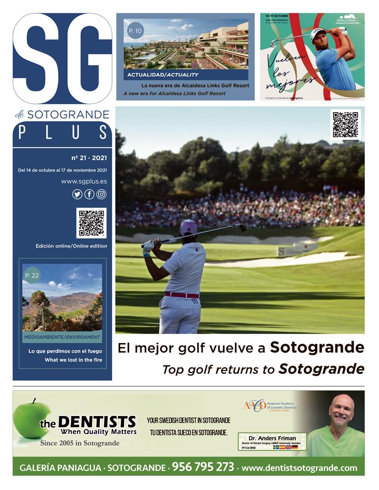 SGPLUS Nº21 · Del 14 de octubre al 17 de noviembre de 2021